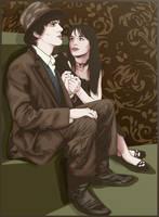 Raskolnikov and Sonia. by ohparapraxia