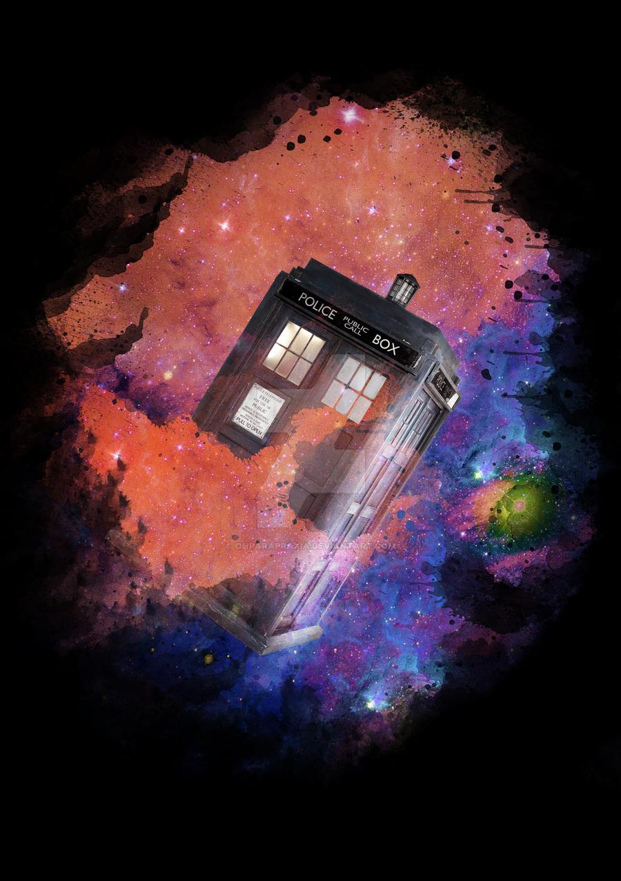 TARDIS by ohparapraxia