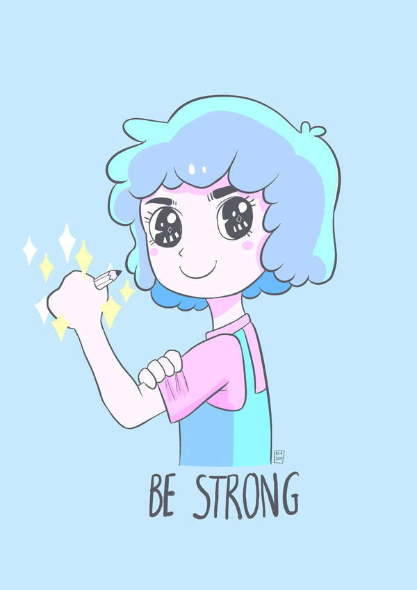 be strong by ohparapraxia