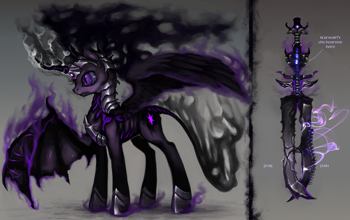 EVIL/NIGHTMARE Twilight Sparkle by ElkaArt