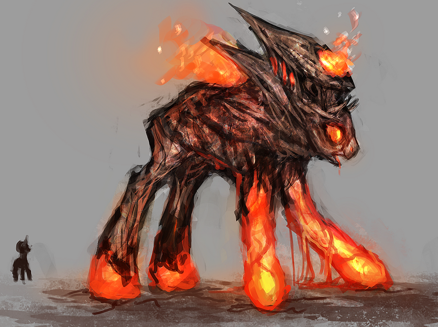 MLP magma golem pony auction 11 CLOSED by ElkaArt