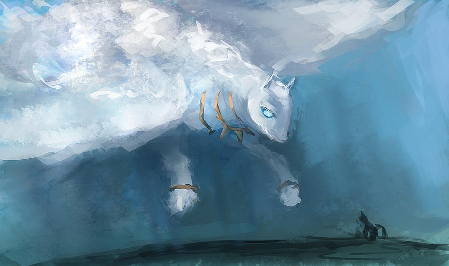 Mlp Cloud/air Golem Pony