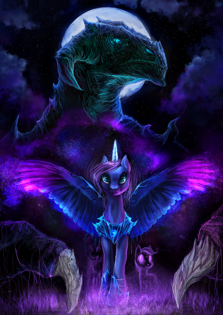 Night Is Our Mother by ElkaArt