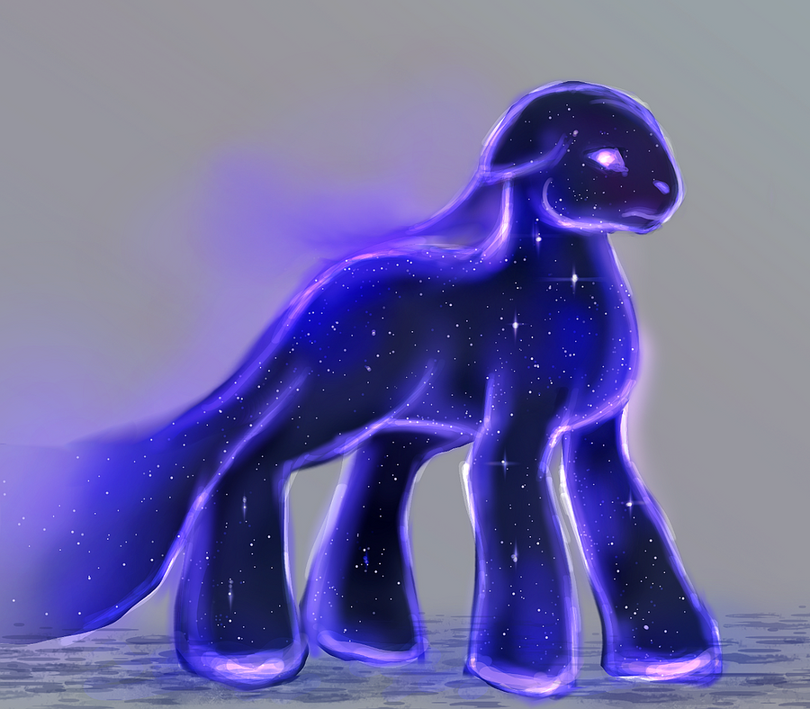 MLP space matter golem pony auction 43 CLOSED by ElkaArt