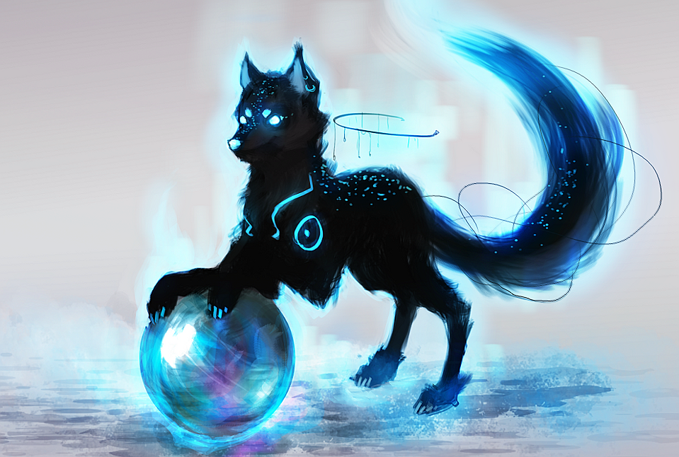 ORB WOLF GUARDIAN AUCTION 02 CLOSED by ElkaArt on DeviantArt