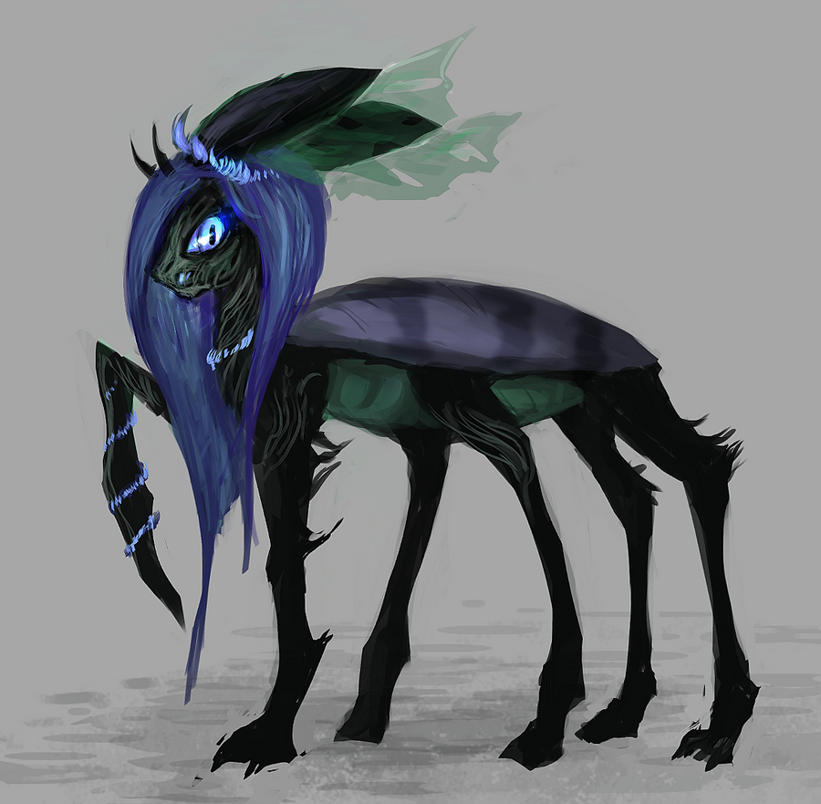 MLP Changeling Limbhead Pony Auction 11 CLOSED By ElkaArt