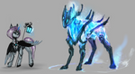 MLP Energy golem pony and mage auction 63 closed