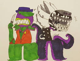 Two Dangerous Chompers (gift)