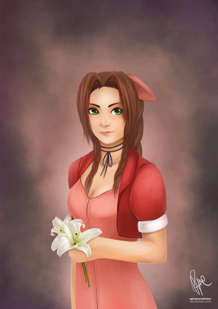 FFVII: Miss Aerith by ephemeralvision