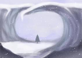 SP: snowy spot by ephemeralvision