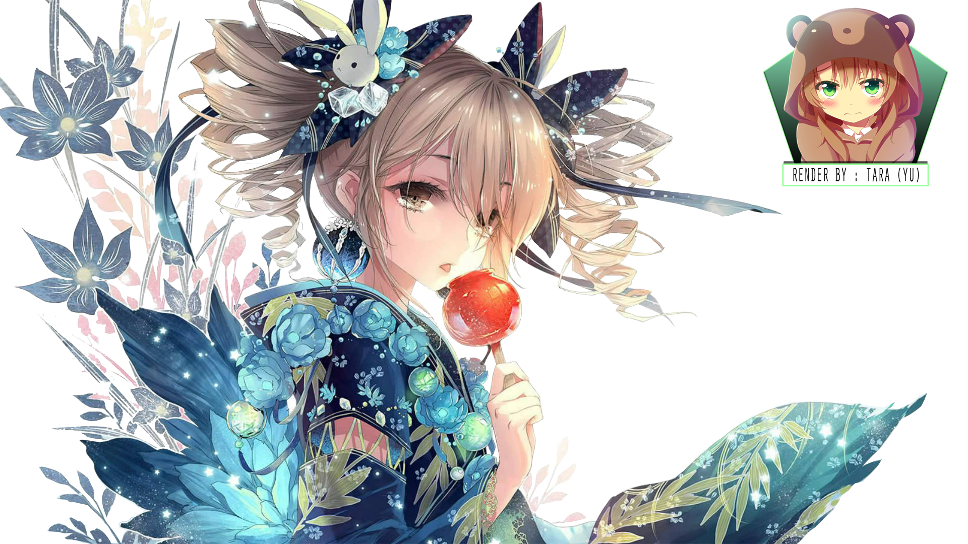 flower's girl renderkokonoearata on deviantart