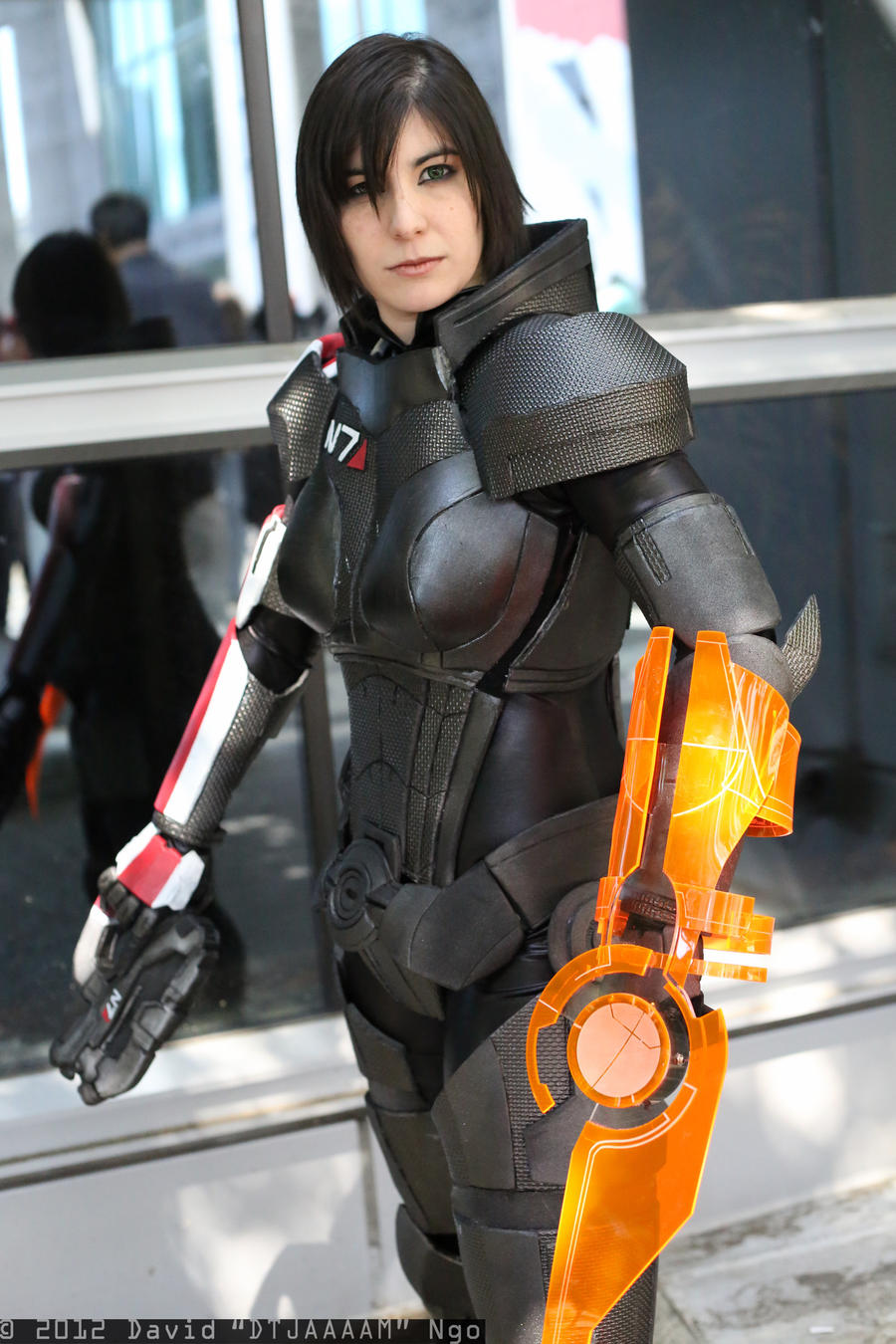 Female Shepard Cosplay by Xemnass