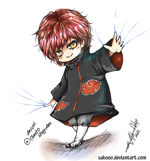 Chibi Sasori By Sakooo On Deviantart