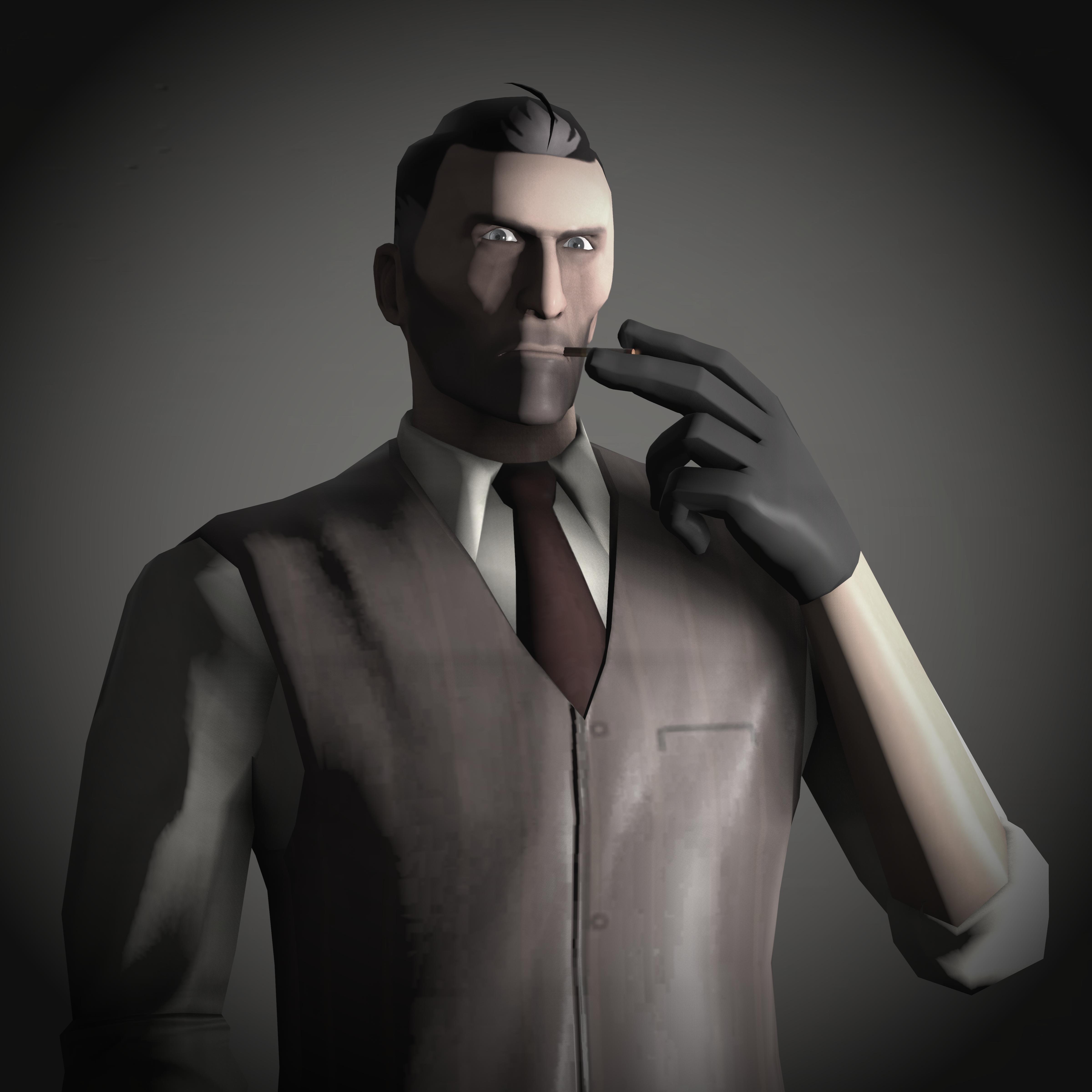 Tf2 Spy Portrait