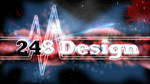248 Design Wallpaper Heartbeat