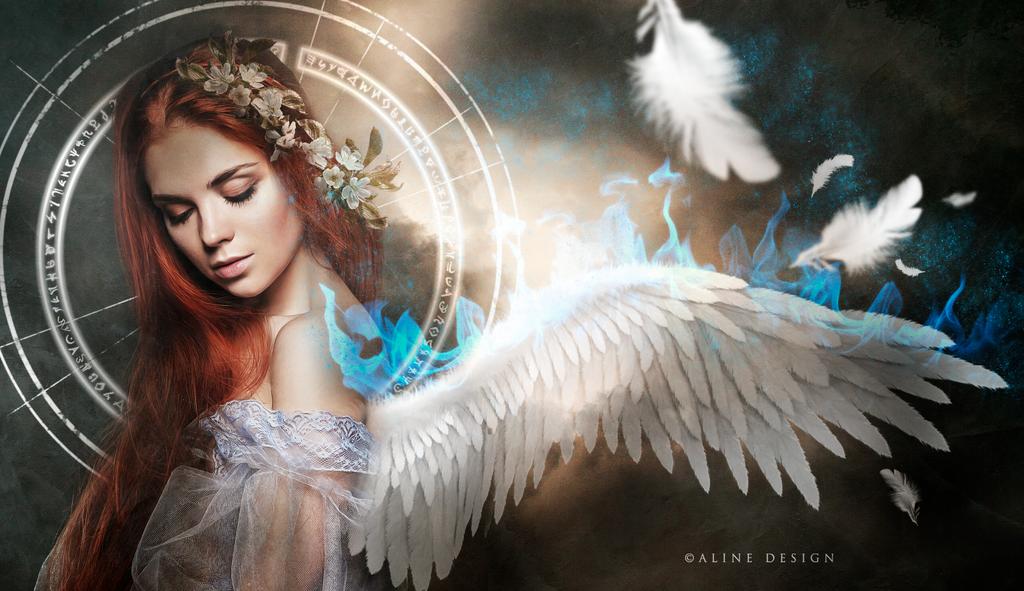 Ice-angel by AlineDesignBrasil