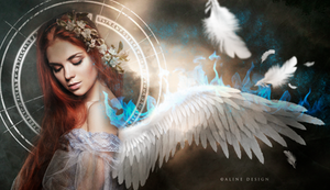 Ice-angel by AlineDesignBrasil