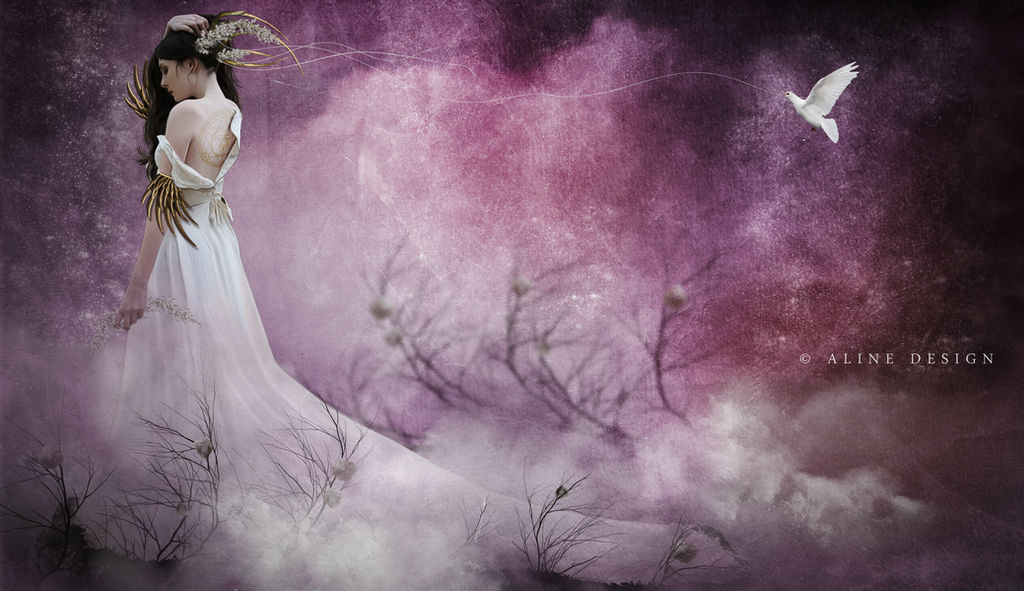 Goddess of the Galaxy by AlineDesignBrasil