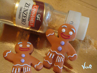 Gingy the gingerbread man - Shrek by Valkyrie-21