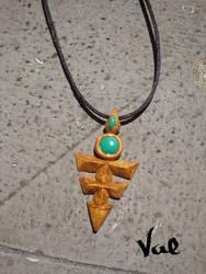 Yu-Gi-Oh! Zexal - Yuma's necklace by Valkyrie-21