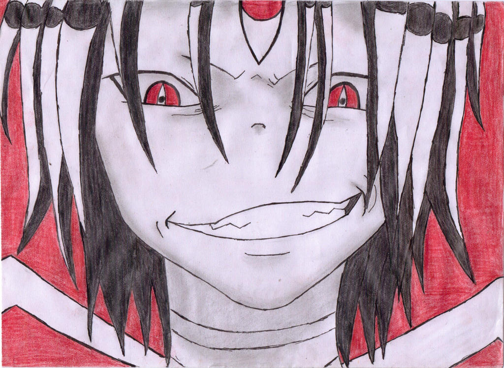 Asura's cute yet creepy smile :3 by DemonMew on DeviantArt