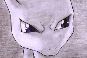 Mewtwo by DemonMew