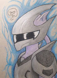 Armoured Mewtwo by DemonMew