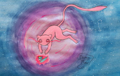Mew and Nici by DemonMew