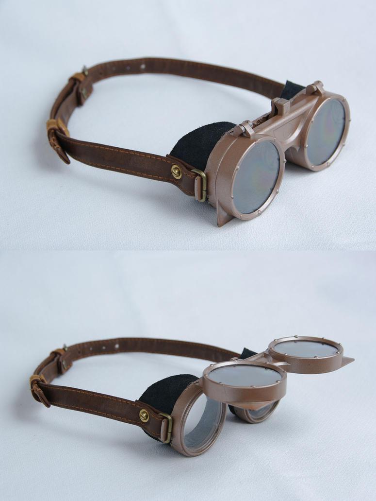 Steampunk Goggles by jezus666 on DeviantArt