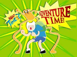 - Adventure TIME - by FelipeChoque