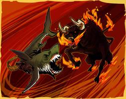 - Cyber Pisces vs Demon Taurus - by FelipeChoque