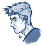GO: Crowley doodle