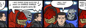 Mass Effect lift conversation