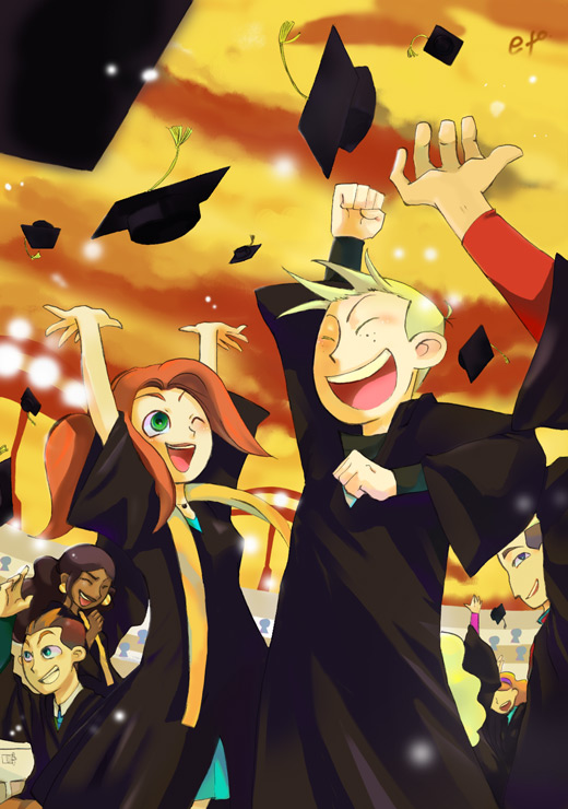 graduation by E-T-O