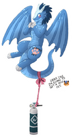 Free Pet Dragon Balloon (Jearic) by CurusKeel
