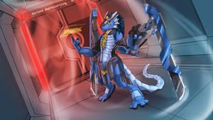 The Shipwright Cyborg Dragon (Adalore) by CurusKeel