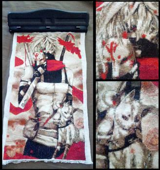 Kakashi X-Stitched by binizib