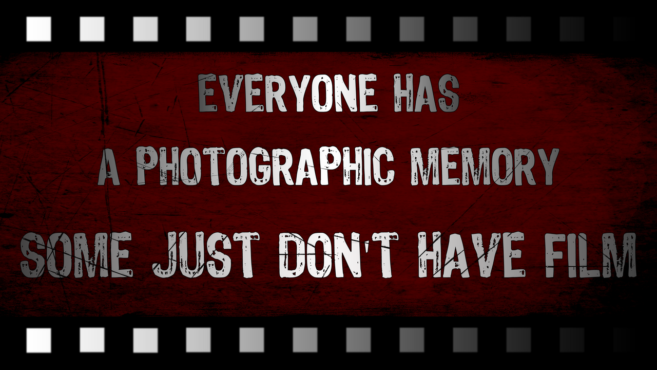 Photographic Memory by dbstrtz