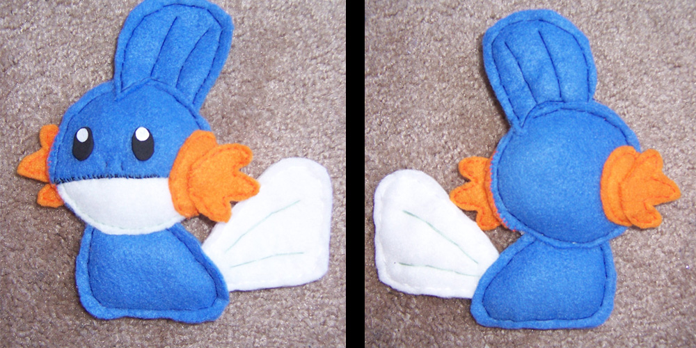 Mudkip Plush By Inari Michiru On Deviantart