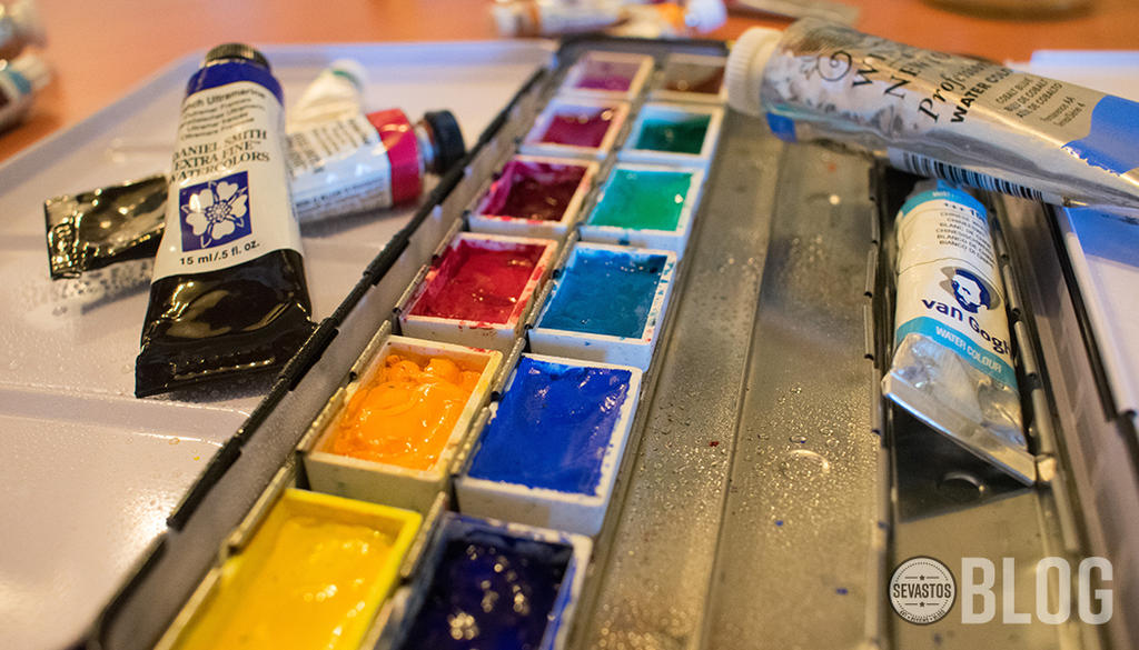 Watercolor Paint - How to Begin Painting in Waterc by sebasteuoLA