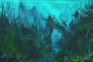 SunkenVillage by MattJWood