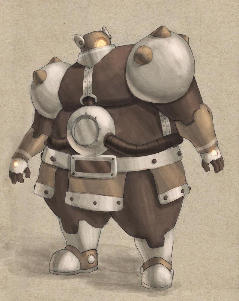 Robot03 by MattJWood