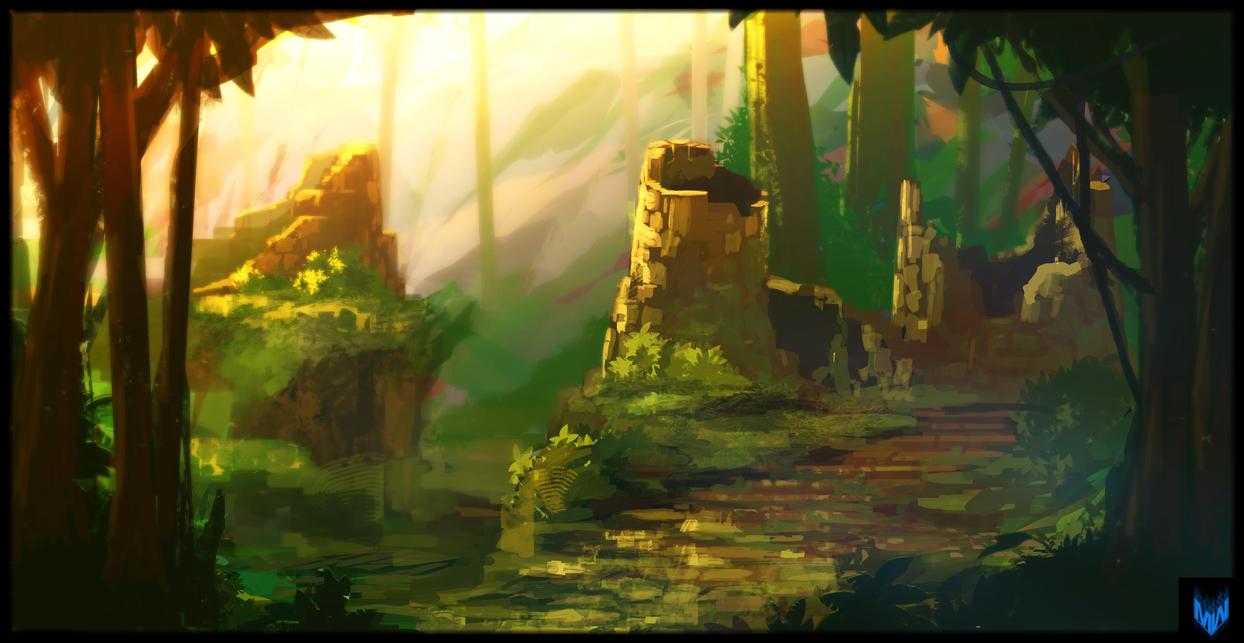 JungleRuins by MattJWood