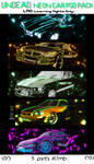 Undead Neon Car PSD Pack by DeviousGFX