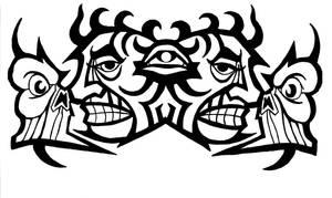 Symetric tribal