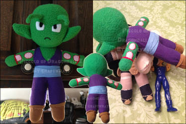 Plushie: Piccolo by craftwratt
