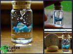 Lucky bottled crane