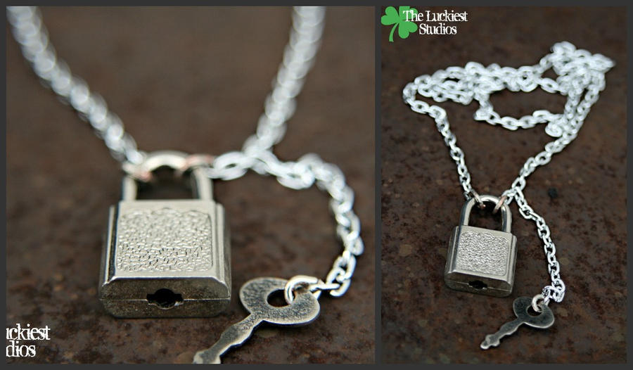 Lock and key necklace by louness26 on deviantart lock and key necklace by louness26 aloadofball Gallery