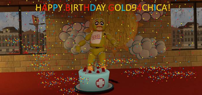Happy Birthday Gold94Chica!