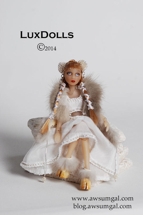 Io Lux, Heir Apparent Artist Resin ooak Doll by awsumgal-Lux